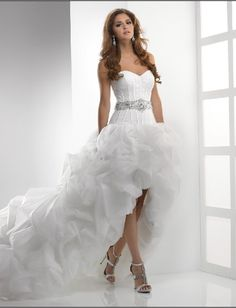 I love this dress! Wedding Dresses Short in the Front Long in the Back 2013