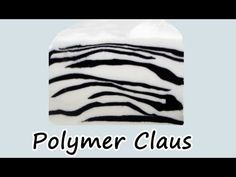 ▶ Animalier: Millefiori cane Zebrata (Zebra-striped Millefiori cane) - YouTube
