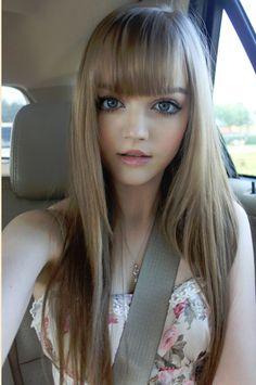 Kota Koti! Beautiful hair. Growing up to look Just like her big sister.