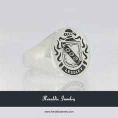 Lessley family crest jewelry