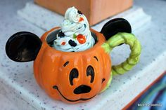 We've found even more Halloween treats in the Disney Parks! Check out these fun holiday items. Disney's Halloween Treat, Halloween Mug, Halloween 2018, Scary Halloween, Halloween Stuff, Happy Halloween, Halloween Time At Disneyland, Disney World Halloween, Disneyland Food
