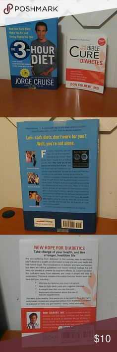 Weight loss Diet book plus book on Diabetes.Both new. ? Other