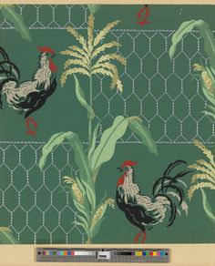 Wallpaper | United Wallpapers, Inc. (Manufacturer) | 2000.529 -- Historic New England