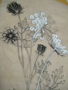 in progress drawing for James' tattoo (picnic helped this one) by fishermansdaughter, via Flickr