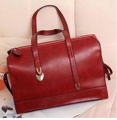 NEW IN Vintage Doctor Bag - Red $39.00