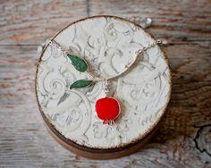 Pomegranate Branch Necklace