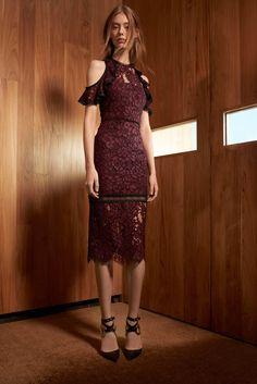 ALEXIS   Evie Lace Dress - Burgundy