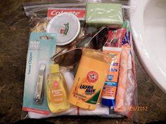 Make Blessing Bags for the homeless. Love this idea.