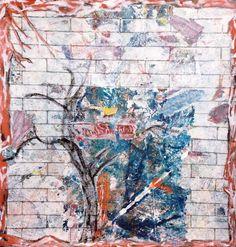 Claudio Spanti - L'Éternel Retour - Acrylique sur toile - cm 71x63 - 2012