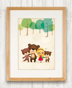 Hey, I found this really awesome Etsy listing at https://www.etsy.com/listing/188914550/goldilocks-and-the-three-bears-nursery