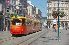 Linz Rail Europe, Light Rail, Public Transport, Motor, Austria, Trains, Transportation, Street View, Around The Worlds