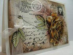 6410/0044 Noor! Design Clear Stamp Postcard Door Anita Izendoorn