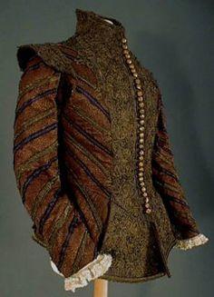 Mode Espagnole - Elisabèthaine, Le costume masculin de 1550 à 1610