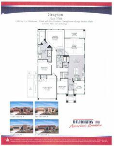 8 Best DR Horton images | Floor plans, Alta vista, Dr horton ... Ran Horton Homes Floor Plans Gallery on