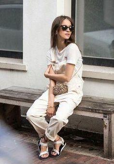 可愛いオシャレママの定番♡この夏サロペットで差をつける!可愛い着こなしコーデのまとめ♥の33枚目の写真   マシマロ