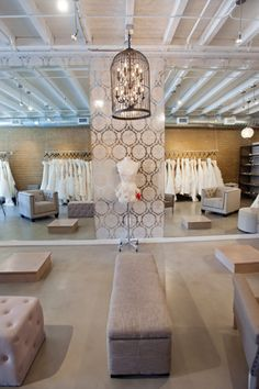 Our new Los Gatos, CA bridal salon   Photo by Hellybee Photography