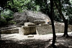Lamanai - located in the north of Belize, in Orange Walk District. The site's name is pre-Columbian