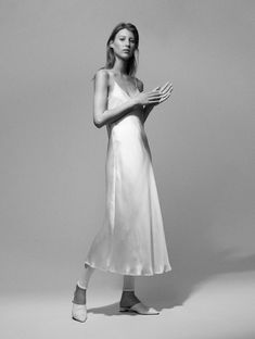 We designed considered silk pieces for women of style and purpose. Elevate your wardrobe with quality essentials. Shop soft suiting and silk slip dresses. Silk Satin Dress, Satin Dresses, Nice Dresses, Clean Slate, White Dress, Spring Summer, Fancy, Photoshoot, Formal