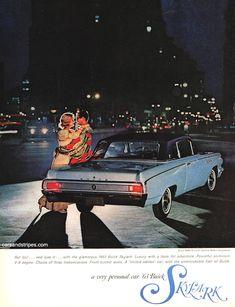 1963 Buick Skylark - Get lost... and love it - Original Ad