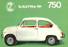 Zastava 750 or Fico Fiat 500, Retro Cars, Vintage Cars, Carros Retro, Car Advertising, Car Pictures, Motor Car, Cars And Motorcycles, Dream Cars