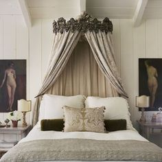 Brooke Giannetti's Crown Bed from her Santa Monica Home going on sale at OKL