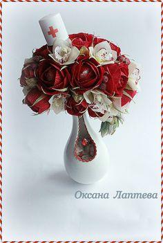 (3) Gallery.ru / Фото #78 - Букеты из конфет 3 - laptewaoxana