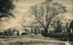 Presbyterian Church and Historic Oak Tree 600 years old