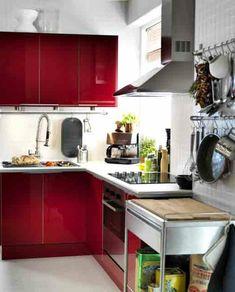 Comment amenager une petite cuisine - Amenager une cuisine en l ...