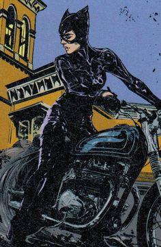 Catwoman Comic, Batman And Catwoman, Gotham, Comic Books Art, Comic Art, Catwoman Selina Kyle, Dc Comics Women, Game Character Design, Comic Panels