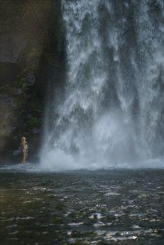 Hidden waterfalls in Australia.