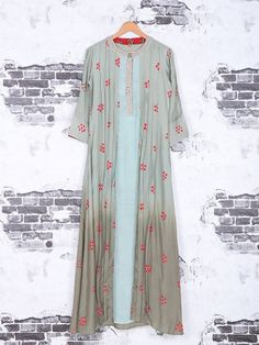 Shop Cotton light green kurti online from G3fashion India. Brand - G3, Product code - G3-WKU1146, Price - 4975, Color - Green, Fabric - Cotton,