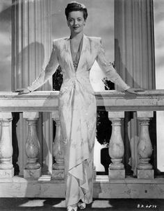 Bette Davis photographed for 'Now Voyager'.