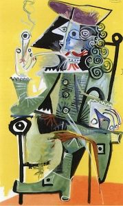 Musketeer with a Pipe - Pablo Picasso - The Athenaeum