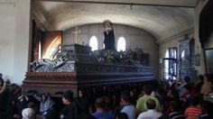 Procesion Virgen de Soledad, San Felipe de Jesus A.G. Salida