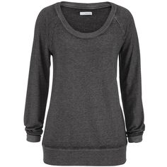 maurices Plus Size - Burnwash Sweatshirt ($29) ❤ liked on Polyvore featuring tops, hoodies, sweatshirts, grey, plus size, gray sweatshirt, plus size sweatshirts hoodies, long sweat shirts, cotton sweatshirt and womens plus tops