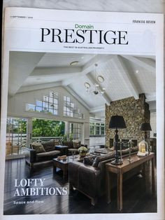 The Prestige, House Ideas, New Homes, Loft, Mansions, Space, House Styles, Home Decor, Floor Space