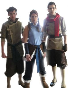 Legend of Korra cosplay. cosplay.  Dang they did good! Though...Bolin needs to be a bit beefier