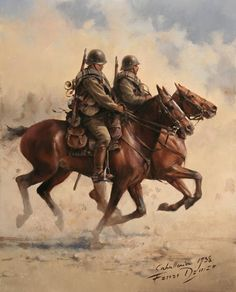 Cavalry, Reg Numancia the work of Augusto Ferrer-Dalmau Military Diorama, Military Art, Military History, Medieval Horse, Renaissance Portraits, Stoner Art, Historical Art, Dieselpunk, Animal Paintings