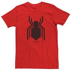 Men's Spider-Man Homecoming Logo Tee, Size: Large, Red