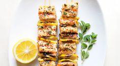 Spiced Salmon Kebabs - Bon Appétit