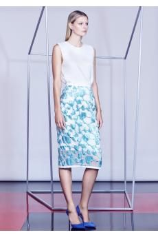 The Bioball Top and King of Spades Skirt from the SS14 collection by CAMILLA AND MARC.
