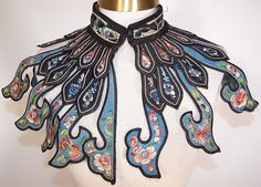 Chinese collar - not sure when would be appropriate to wear this but it's awesome.