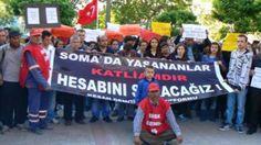 Devriye Haber : Keşan'da Soma Faciası Protesto Edildi