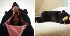 This Lifelike Bear Sleeping Bag Is A Must-Have For Your Next Camping Trip