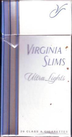 Virginia slim ultra light menthol
