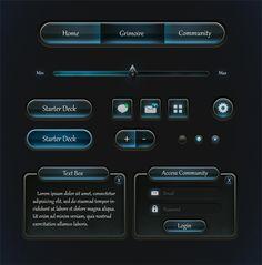 http://liehl.deviantart.com/art/Game-UI-390310905