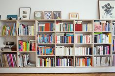 Shelves of books. Furniture after my own heart.