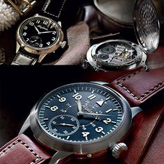 The Best Just Got Better ALPINA the Heritage Pilot (See more at: http://watchmobile7.com/articles/alpina-heritage-pilot)  (1/5) #watches #alpina #alpinawatches @Alpina Watches