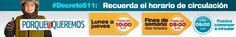 PROTECCIÒN CIVIL TÀCHIRA: #DECRETO 511: Recuerda el horario de circulación