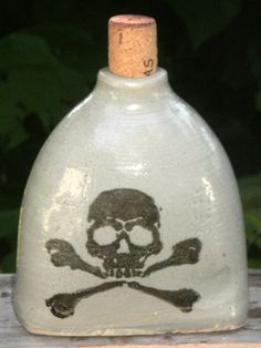 Pirate Whisky Flask